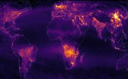 Đây không phải ánh đèn đô thị đâu, mà chính là khí thải phát ra bởi con người