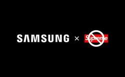 """Samsung quyết định ngừng hợp tác với Supreme """"nhái"""" chỉ sau vỏn vẹn 2 tháng"""