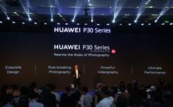 Bộ 3 siêu camera phone - P30 series chính thức về Việt Nam với mức giá bất ngờ