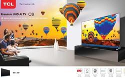 TCL Premium UHD AI C8 TV - Combo hoàn hảo của giải trí và công nghệ AI