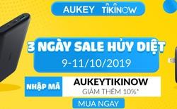 Tiki lần đầu tiên sale cùng Aukey, giảm giá tới 50%++ chỉ 3 ngày duy nhất