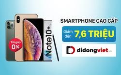 iPhone 11 Pro Max, Xs Max và Galaxy Note 10 + đồng loạt giảm giá đầu tháng 12