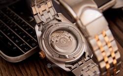 5 mẫu đồng hồ màu vàng hồng, có đính kim cương thật