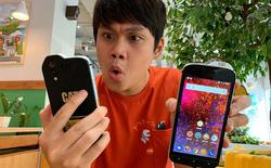 """Cộng đồng YouTuber Việt phát cuồng vì chiếc điện thoại """"ngửi"""" được chất độc hại CAT Phone!"""