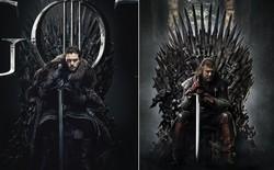Tung bộ poster Game of Thrones mùa cuối giống hệt mùa 1, HBO khiến fan tưởng nhớ Ned Stark