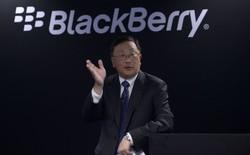 CEO BlackBerry: Smartphone màn hình gập quá cồng kềnh và thực sự không cần thiết