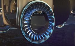 Độc đáo ý tưởng lốp xe kiêm cánh quạt, vừa là bánh xe đi trên mặt đất nhưng cũng có thể biến thành cánh quạt khi bay