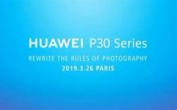 """Huawei tuyên bố dòng P30 sắp ra mắt sẽ """"viết lại các quy tắc nhiếp ảnh"""""""