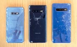 SquareTrade thử nghiệm thả rơi bộ 3 Galaxy S10, vỡ ngay từ lần thả đầu tiên, Galaxy S10 bền hơn iPhone XS Max