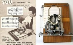 Có thể bạn chưa biết: Đây là máy đánh nốt nhạc từ những năm 1950s