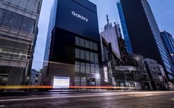 """Marketing kiểu """"nhiều tiền như Samsung"""": dán kín mặt tiền toà cao ốc bằng 1.000 chiếc điện thoại Samsung Galaxy"""