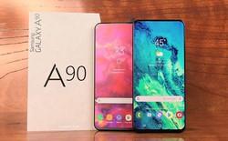 Samsung Galaxy A90 có thể có màn hình lớn đến 6,73 inch, hỗ trợ sạc nhanh 25W