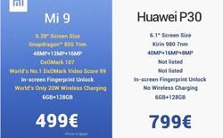 Xiaomi đá đểu Huawei từ lúc ở sự kiện lên Facebook