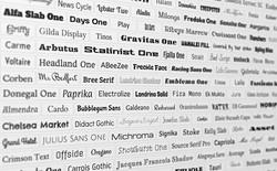 10 Font chữ miễn phí và cực đẹp từ Google thích hợp để bạn sử dụng cho bài thuyết trình