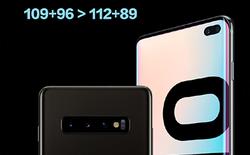 Samsung dùng phép tính lớp 2 để chứng minh Galaxy S10+ chụp đẹp hơn P30 Pro