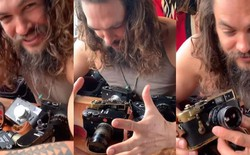 'Aquaman' Jason Momoa là một người đam mê nhiếp ảnh, có một bộ sưu tập máy ảnh Leica đắt giá