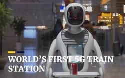 Hongqiao - Thượng Hải là nhà ga đầu tiên trên thế giới cung cấp kết nối 5G cho hành khách