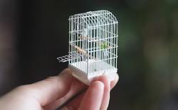 Xuýt xoa trước bộ mô hình thủ công siêu chi tiết của nghệ sĩ Nhật Bản