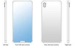 """Khó vậy cũng nghĩ ra được: Xiaomi đăng ký bằng sáng chế cho """"tai thỏ"""" nằm phía dưới màn hình"""