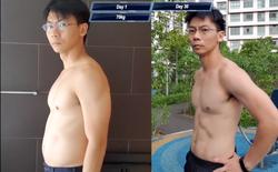 Người đàn ông trung niên quyết tâm tập luyện giống Saitama và cái kết 6 múi