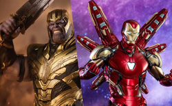 Đồ chơi mới ra hé lộ Iron Man cũng đeo Infinity Gauntlet để gõ lại Thanos