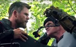Xem lại hậu trường Infinity War, mới thấy trình hóa thân thượng thừa của dàn diễn viên Marvel