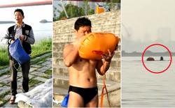Ông chú 53 tuổi chiến thắng bệnh tiểu đường, bơi 2,2km vượt sông Dương Tử đi làm mỗi ngày trong 11 năm