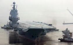 Trung Quốc lần đầu tung hình ảnh về chiếc tàu sân bay được sản xuất trong nước