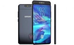Ý tưởng thiết kế Galaxy A90 với màn hình full-screen, không khiếm khuyết và dùng camera vừa xoay vừa trượt