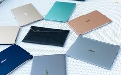 Acer Swift ra mắt tại Việt Nam: laptop mỏng nhẹ, viền mỏng, vỏ kim loại, giá từ 9,9 triệu đồng
