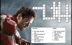 Mừng sinh nhật chất như Iron Man: Tặng fan ô chữ đố vui không có thưởng!