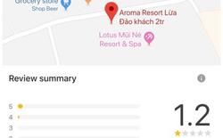 """TripAdvisor khóa đánh giá của Aroma Resort vì cho rằng các đánh giá này """"không phản ánh trải nghiệm trực tiếp"""""""