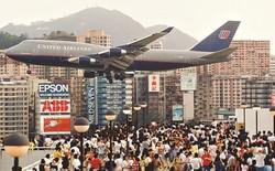 Kai Tak - Sân bay khó hạ cánh nhất thế giới, gắn liền với thời kỳ hoàng kim của Hồng Kông