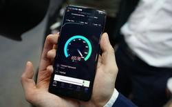 Viettel sử dụng smartphone OPPO Reno thử nghiệm kết nối mạng 5G đầu tiên tại Việt Nam, tốc độ tải dữ liệu đạt 654 Mb/s