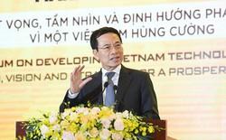 Bộ trưởng Nguyễn Mạnh Hùng: Anh em doanh nghiệp muốn làm công nghệ mới nhất nên tìm đến Điện Biên!