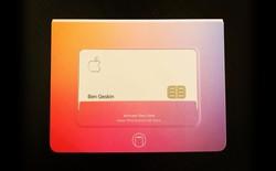 Đập hộp thẻ tín dụng Apple Card, chất liệu titan, thiết kế đơn giản và đẳng cấp