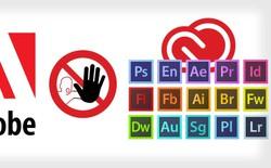 Người dùng các phiên bản cũ của phần mềm Adobe sẽ có thể bị kiện