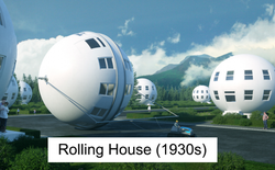 Đây là cách người xưa mường tượng ra nhà ở của thế giới tương lai từ hơn 100 năm trước