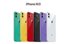Hình ảnh cho thấy iPhone XR 2019 màu xanh lá cây và tím sẽ xấu như thế nào