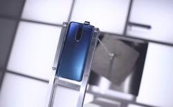 Thử nghiệm độ bền của OnePlus 7 Pro, khả năng chống chịu cực tốt, camera pop-up có thể nâng được cục bê-tông 22kg