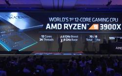 [Computex 2019] AMD trình làng CPU Ryzen 9 3900X, 12 lõi/24 luồng, giá chỉ 499 USD
