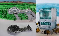 KTS biến những đồ vật quen thuộc thành công trình kiến trúc với thiết kế không tưởng