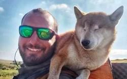 Câu chuyện của chú chó mù bị trầm cảm, được ông chủ cõng đi khắp thế giới cho khuây khỏa