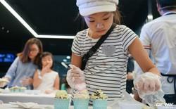 Quốc tế thiếu nhi: Cả nhà rủ nhau đến Showcase học làm bánh cupcake với công cụ không thể thiếu là chiếc tủ lạnh
