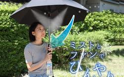 Nhật Bản ra mắt ô gắn quạt phun sương, giá 1,3 triệu, chạy bằng 4 quả pin AA