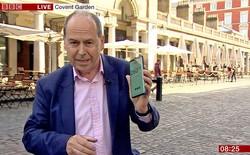 Lần đầu truyền hình trực tiếp bằng mạng 5G, đài BBC lập tức gặp sự cố vì... SIM hết dung lượng data