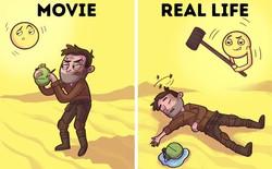 Bí kíp sinh tồn từ phim Hollywood thường được thần thánh hóa, học theo có ngày mất mạng như chơi