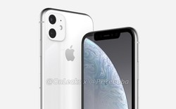 iPhone XR 2019 lộ ảnh render đầu tiên với cụm camera kép to và lồi, màn hình LCD viền dày như đời đầu