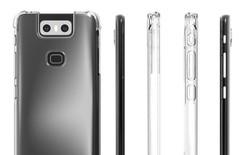 Nhà sản xuất case để lộ thiết kế Asus Zenfone 6 với cụm camera khá dị phía sau