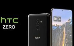 HTC ZERO lộ diện, màn hình đục lỗ, 2 camera kép cực lớn phía sau